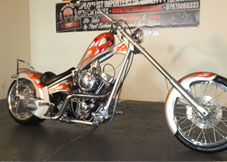 Harley Davidson (War Eagle) Custom Chopper